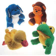 Baby Bath Toys Washtime Pals Bath time Fun Animal Set of 4 Terry Bath Sponges