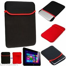 "NERO Rosso Soft Sleeve Bag Case Cover Custodia per 7 "" 7.9"" 8 ""Tablet PC iPad Mini"