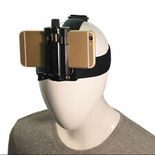 Outdoor Head Band Cell Phone Holder Harness Strap Belt Mount Tripod Clip Holder