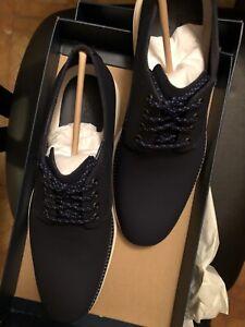 Cole Haan Original Grand C27998 Plain Toe Oxford, Men's Size 9. Navy Blue