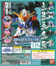 BANDAI SD Mobile Suit Gundam NEXT 2 Gashapon Figure (Set 5 pcs) Z Qubeley TR-6