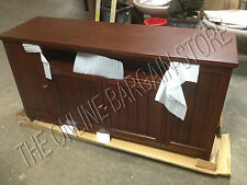 Pottery Barn  Media Cabinet Armoire TV Stand Gaming Console Beadboard Espresso