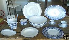 Richard Ginori Servizio tavola piatti decoro Luna 01176 porcellana  61 pezzi