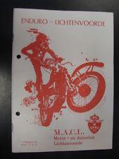 Programmaboekje Nationale Enduro Lichtenvoorde (NL) 10 december 1983