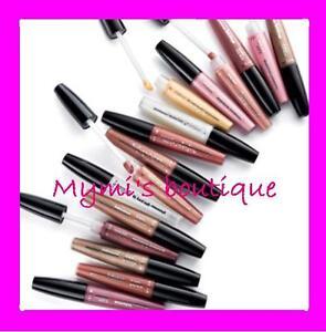 Lip Gloss Avon Glazewear: Rose, Purple, Brown, Colorless New