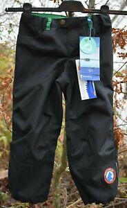 Finkid TOBI Husky robuste Hose Regenhose Outdoorhose graphit/leaf Gr.100/110 NEU