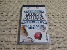 Die Ultimative Brettspiele Sammlung für Sony PSP *OVP*