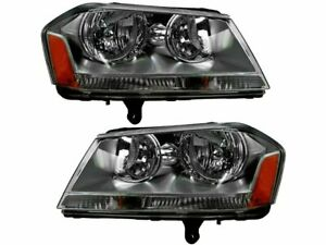 Headlight Assembly Set For 08-09, 12-14 Dodge Avenger SE GD99S1 SE; SXT