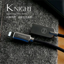 1.8M Black Mcdodo LED Auto-Disconnect Lightning Data USB Cable For iPhone 6S 7+