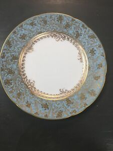 Bernardaud Limoges Eden Turquoise Bread /& Butter Plate