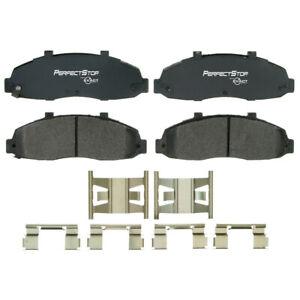 Frt Semi Met Brake Pads  Perfect Stop  PS679M