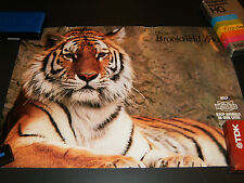 Chicago Brookfield Zoo Tiger Poster 15 X 22 Rare Promo