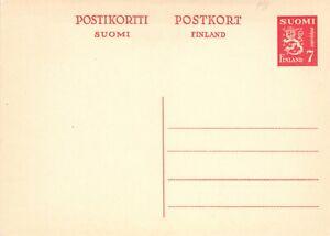 Finland/Russia Lot Six (6) Postal Stationeries Unused Fine Condition (240)