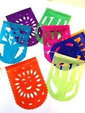 Authentic Messicano Papel Picado striscioni Mini Taglia Multicolore 150 cm Lgth