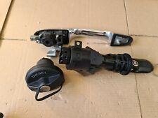 2008 Fiat 500 Key Fob Ignition Barrel lock set Fuel Cap Door handle DIESEL 2