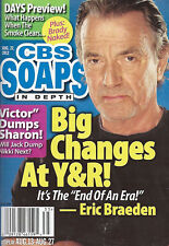 CBS Soaps In Depth August 27 2012 Eric Braeden Martsolf Jacqueline MacInnes Wood