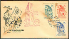 1951 Philippines UNITED NATIONS DAY First Day Cover