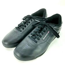 VINTAGE 1990'S REEBOK PRINCESS SHOES BLACK 11 CLASSIC SNEAKERS Womens