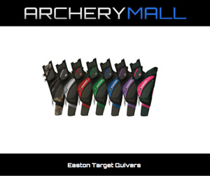 Easton Left Handed Target Quivers **MULTIPLE COLORS**