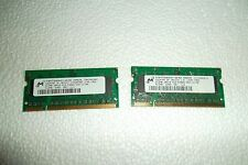 Micron Notebook Memory 1GB (2x 512MB) PC2-5300S 667MHz Non-ECC MT8HTF6464HDY