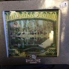 New Old Bass Lodge Picture Frame Fishing, Lodge, Cabin Home Decor
