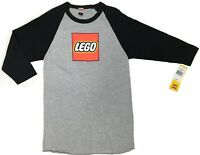 Lego LEGO Logo Raglan T-Shirt NWT Licensed & Official Rare!!!