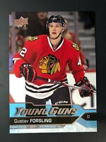2016-17 Gustav Forsling UD Young Guns Rookie