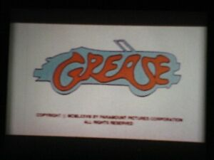Super 8 film, GREASE, 3 x 400ft colour Sound Marketing Print.
