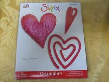 New NIP Sizzix Originals Die #654998 Hearts Primitive #2  more at our store