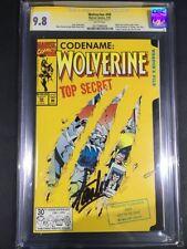 Wolverine Signed Comic Books