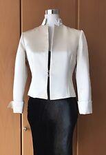 GIANFRANCO FERRE ✿ Designer Blazer It 42 DE 36 38 Satin Jacke Jacket Mytheresa