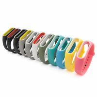 Armband Ersatz für Xiaomi Mi Band 2 Fitness Watch Tracker in Verschiedene Farben