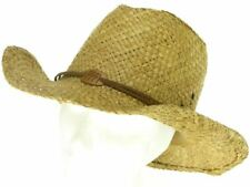 PAGLIA Cappello da cowboy con finiture in pelle Band e Cavalli BADGE