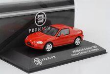 Honda Civic 1992 Cr-X Delsol Red 1:43 Triple9 Premium