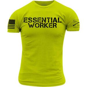 Grunt Style Essential Worker T-Shirt - Safety Green