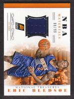 2013-14 National Treasures NBA Materials Jersey #45 Eric Bledsoe 89/99 Suns