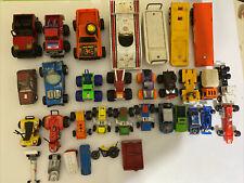Lot of Diecast Cars, Trucks & Plastic Toys, Used