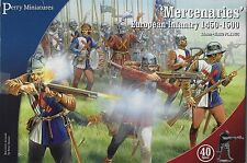 Perry Miniatures  Mercenaries - European Infantry (1450-1500) (40) 28mm Plastic