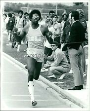 1974 Bennie Brown UCLA 440 Sprint Olympic Medalist Original News Service Photo