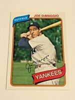 2012 Topps Archives Baseball Base Card #138 - Joe DiMaggio - New York Yankees