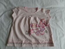 Matalan Girls Pink Short Sleeve T-Shirt Size 2-3 Years