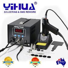 YH-948 220-240V High quality Soldering Desoldering Station in digital OZ SELLER
