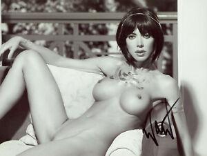 MILO MOIRE Signed Photograph - Iconic Artist - Avant Garde Pop Art - preprint