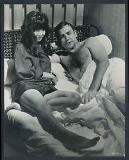 "1967 James Bond, ""Seductive Photo with Asian Bond Girl Mei Hama"" Vintage Photo"