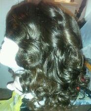 100% human virgin indian hair full wig