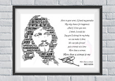 More details for the bee gees love songs & lyrics /keepsake/valentines gift/collectable signed
