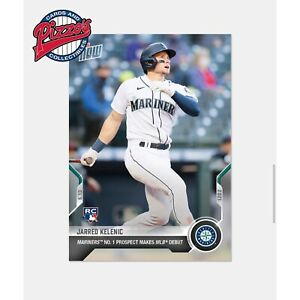 Jarred Kelenic RC Debut - 2021 MLB TOPPS NOW Card 208 Presale