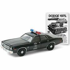 1975 Dodge Coronet State POLICE - Enforcement ** Greenlight Ad Cars 1:64 NEU