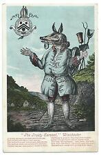 """HAMPSHIRE - """"The TRUSTY SERVANT"""", WINCHESTER  Postcard"""