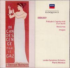DEBUSSY: PRELUDE A L'APRES-MIDI D'UN FAUNE NOCTURNES IMAGES - CD 2006  F/S